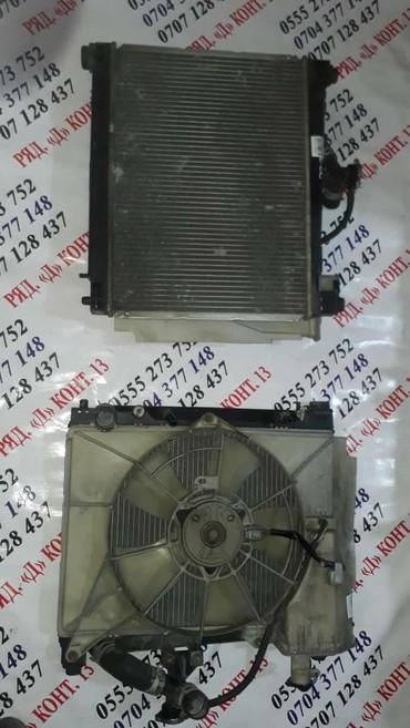 Радиатор на Тойота Ист 1.3 . из Японии в Бишкек