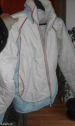 Jaknica-bela-postavljena - Srbija: Bela suskavac- jaknica, velicina l/xl u odlicnom stanju
