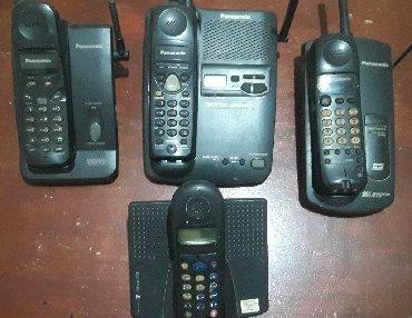 Elektronika   Beocin: Panasonic bezicni telefoni ispravni. Cena je za komad