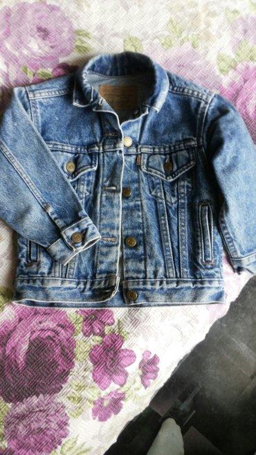 Продаю джинсовую курточку, на 3,5-4,5лет, фирменная Levi's,  состояние в Бишкек