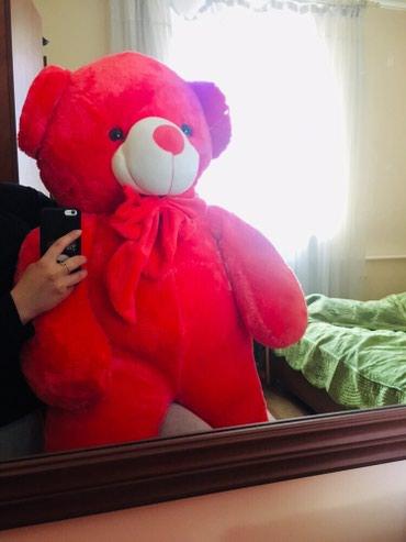 Большой плюшевый медведь 1.50, очень в Бишкек