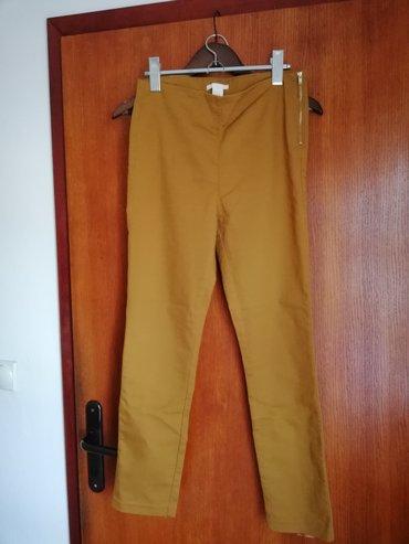 H&M pantalone senf boje, 40 velicina.Par puta nosene, nisu ostecene. in Novi Sad