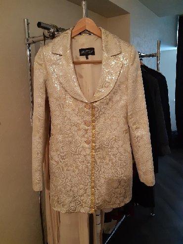 Пиджак нарядный выходной. Производство Турция!!! Цвет золотой. Размер