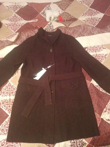 Новое женское пальто, коричневого в Бишкек