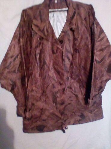 Kozne jakne - Srbija: Zenska kozna jakna,broj 49.NOVA