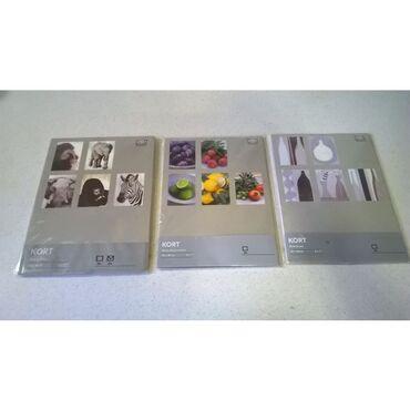 3 σετ κάρτες ΙΚΕΑ KORT1ο πακέτο με τα ζώα ( 5 κάρτες και 5 φάκελοι )