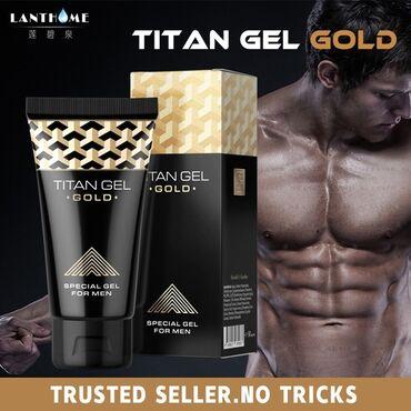 Хочешь незабываемых ощущений в сексе? Используй Titan Gel Gold для тво