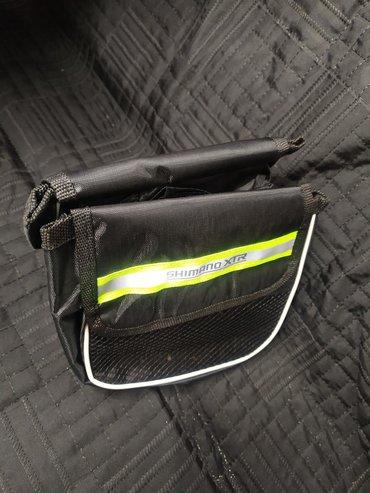 Велосумка на раму для телефона и мелких принадлежностей 15х11,5х6 6