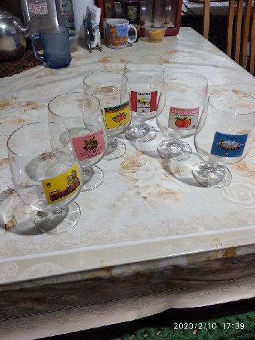 Стаканы - Кыргызстан: Чешское стекло