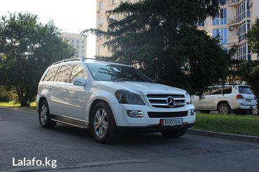 Продаю Mercedes-benz Gl500(550 Япония)Объем: 5.5Год: 2007Цвет: Белы в Бишкек