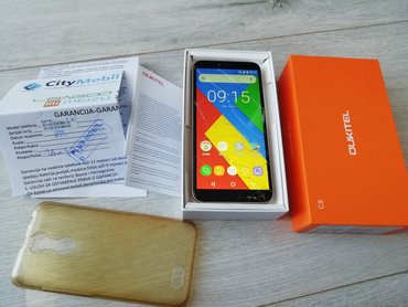 Oukitel C8Odlican i ispravan telefon.Dual sim.Ekran 5.5 inca, kamera