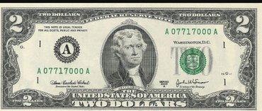 Bakı şəhərində 2 dolar esqinazi
