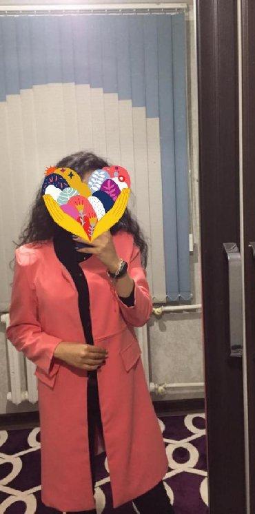 женские пиджаки и жакеты в Кыргызстан: Продаю жакет-пиджак  Арбузного цвета новый  Отлично сидит