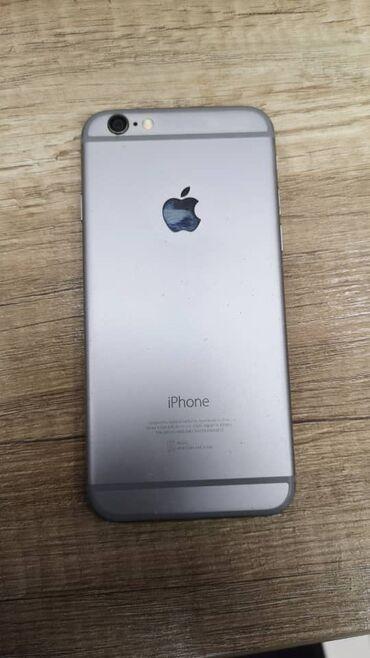 купить мини видеокамеру в Кыргызстан: Б/У iPhone 6 64 ГБ Серый (Space Gray)
