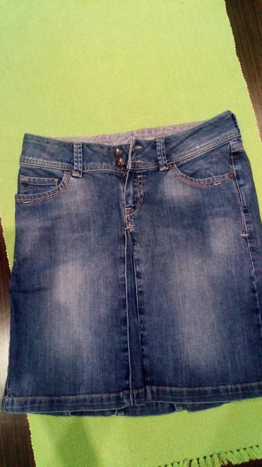 Od teksasa - Srbija: Prelepa, teksas suknja, od odlicno teksasa, Esprit, br. 25,bas malo