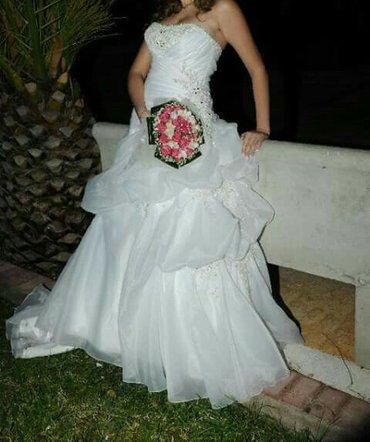 πωλειτε νυφικο φορεμα μια φορα φορεμενο. καινουργιο και σε αψογη κατασ σε Agia Varvara