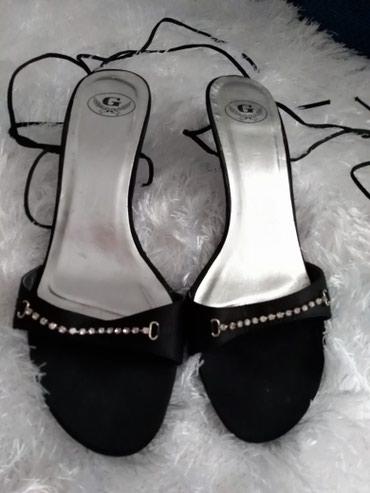 Sandale, elegantne . Prelepo stoje. Vezu se oko noge. Nosene par puta. - Prijepolje
