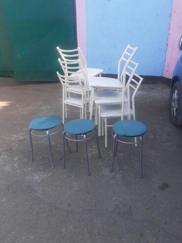 Металлические столы стуля на заказ