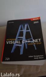 Na prodaju nova knjiga microsoft visual c++. Net od autora julian - Belgrade