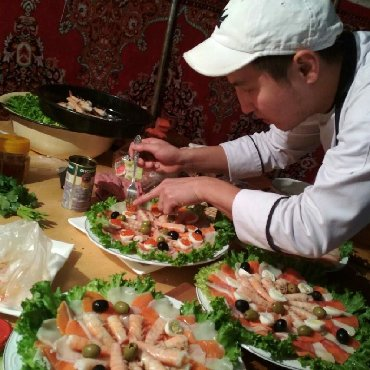 повар на выезд в Кыргызстан: Повар на выезд Бишкек, Повар на выезд Кыргызстан, услуги повара