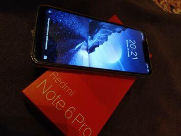 Видеокамера red - Кыргызстан: Б/у Xiaomi Redmi Note 6 Pro 32 ГБ Черный