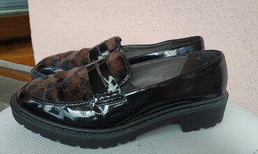 Ženska obuća | Srbija: Jenny potpuno nove cipele sa leopard detaljem na prednjem delu