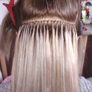 Наращивание волос. Выезд. Наращивание в Бишкек