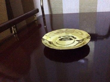 Bakı şəhərində Продаю от кофейного сервиза блюдца золотого цвета. Цена 1 шт. 6 ман. В