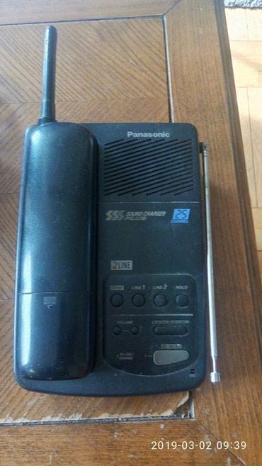 Dvolonijsli Panasonic kx-tc 281 bx, 25 kanala, uz telefon ide - Belgrade