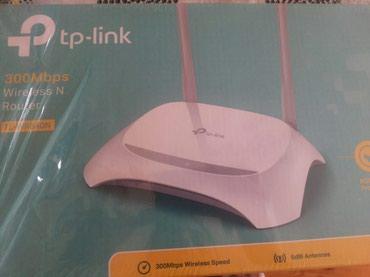 Bakı şəhərində Wi fi modem router  satilir.3 4 ay iwlenib.yenisi alindiqina gore