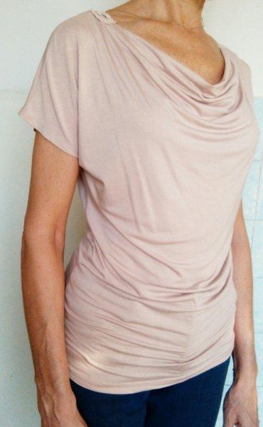 Продам удлиненную блузу-футболку с в Бишкек