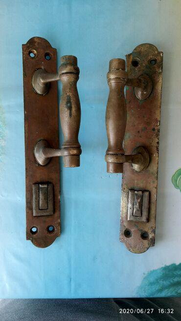 Ручки дверные бронзаАнтиквариат 19 векВ нормальном состоянииЦена за 2