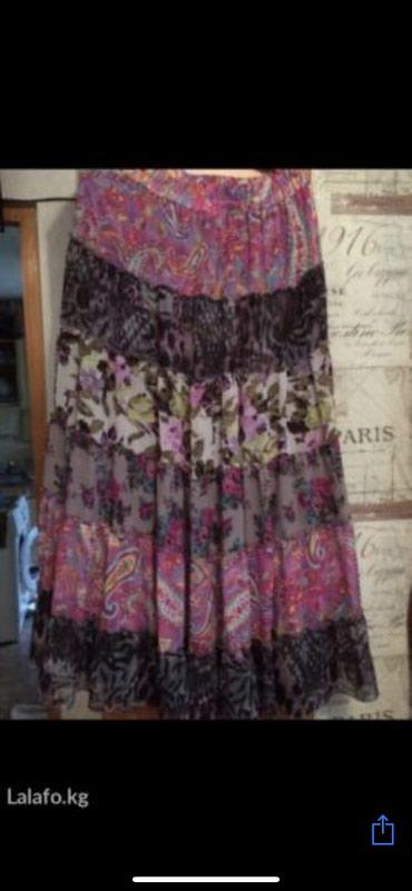 Расклешенная юбка, в идеальном состоянии, размер 52,54,56 в Бишкек