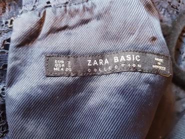 Od-haljina-cipke - Srbija: Zara teget mini haljina. od vrlo kvalitetne cipke. kao nova, jednom