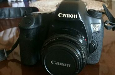Fotoaparatlar - Qusar: Canon EOS 6D body əla vəziyyətdə .87 min probegi var üstündə spicka