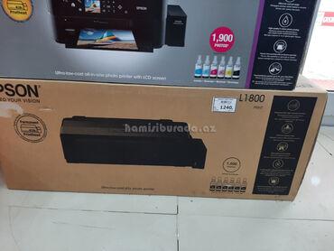 Printer Epson L1800 A3Brend:EpsonRəng:QaraTəyinat:Sənədlər və şəkillər