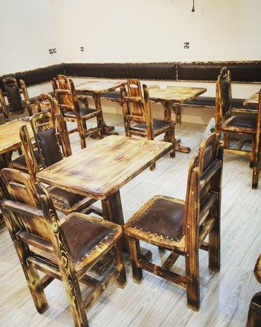 Bakı şəhərində restoran kafe pub cay evlerinin mebelle dowenilmesi sifarisleri