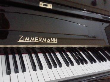 Bakı şəhərində Zimmermann - Almaniya istehsalı kompaky ölçülü piano satılır - 5 il