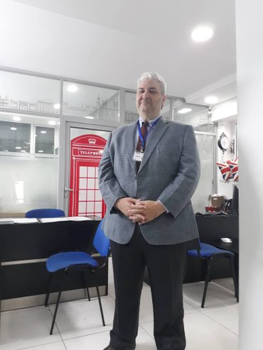 Здравствуйте наш новый учитель СТИВ. в Бишкек
