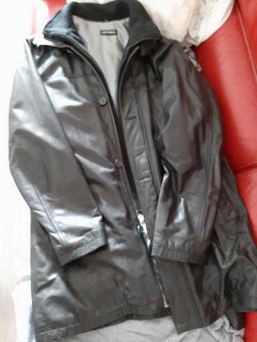 Leonardo muska kozna jakna postavljena br.52 - Novi Sad