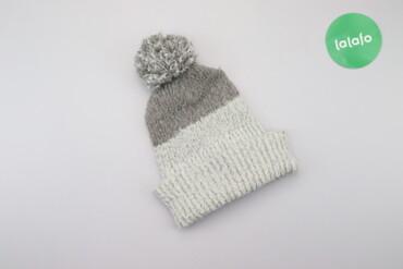 Жіноча тепла шапка з помпоном Pull&Bear   Довжина: 31 см  Ширина