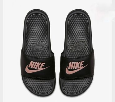 Papuce - Srbija: Crne zenske Nike Papuce ORIGINAL Pitati za dostupne brojeve