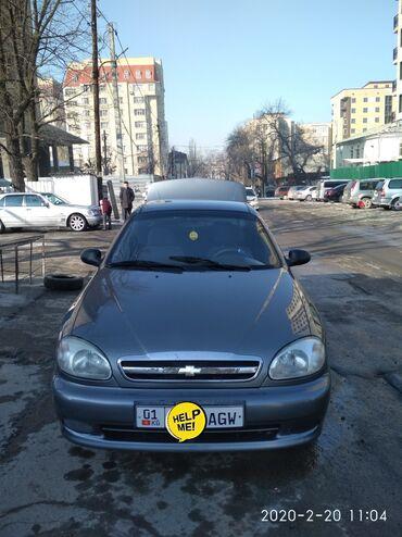 Chevrolet в Кыргызстан: Chevrolet Lanos 1.5 л. 2006 | 257221 км