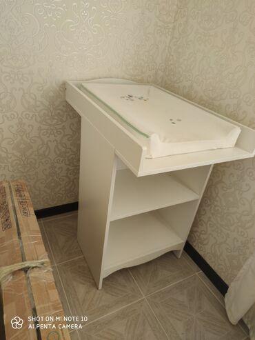 Продаю пеленальный столик от IKEA, вместе с матрацом. Отдаю за 5