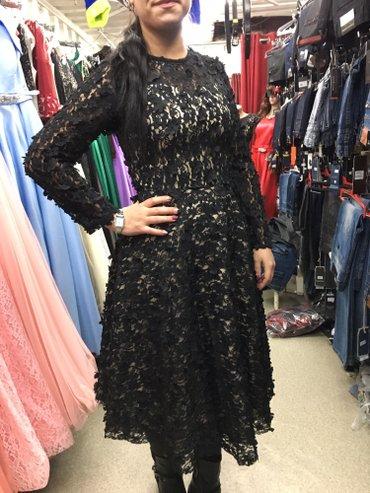 Платье невероятной красоты. с 3d цветочками.  в Лебединовка