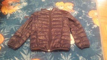 Benetton teget jakna za devojcice velicina 5-6.Cena 850 rsd - Novi Sad