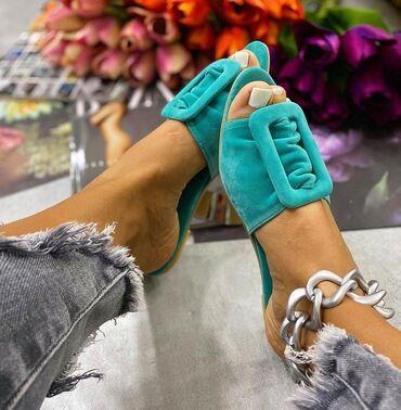 Prelepe preudobne premekane papuče br 38 Novo Divna boja