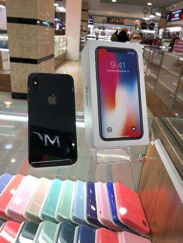 Apple Iphone - Кыргызстан: Б/У iPhone X 64 ГБ Черный