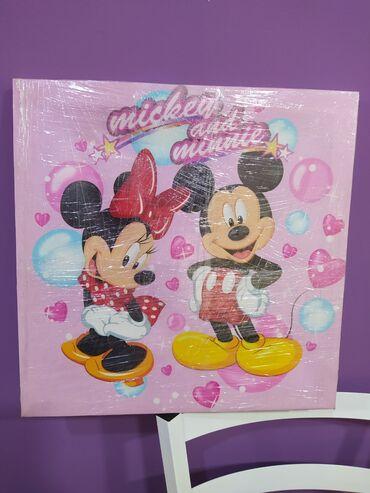 Na prodaju nova slika dimenzije 40 x 40 cm, za dečiju sobu