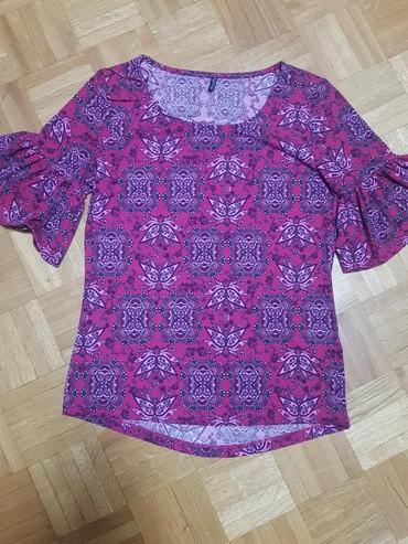 Majica pamucna xl - Srbija: Ljubicasta pamucna majica, kupljena u Becu L-Xl, kao nova